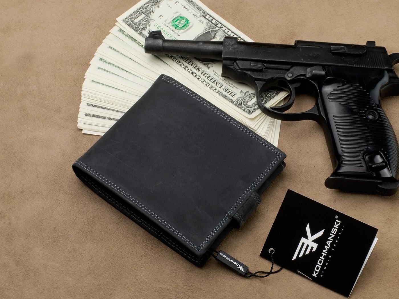skórzany portfel kochmański